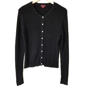 3/$15 Merona Cable Knit Button Down Cardigan Top
